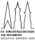 Bild / Logo Ev. Kirchengemeinde am Weinberg + Kultur Büro Elisabeth